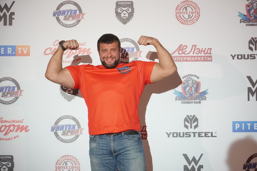 Maksim Baruzdin at Vortex sport